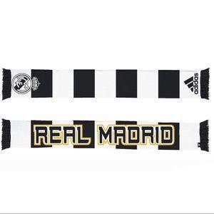 🌈 Adidas Real Madrid soccer football scarf
